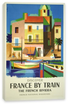 Туризм, Discover France by Train, The French Riviera, French National Railroads