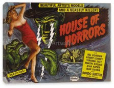 Кино, House of Horrors, Beautiful Artists Models and a Beastly Killer!