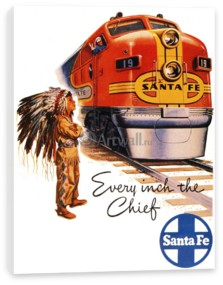 Туризм, Every Inch the Chief, Santa Fe