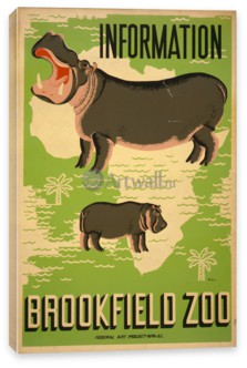 Works Progress Administration (USA), Информация Brookfield Zoo