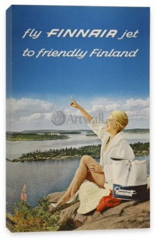 Туризм, Fly Finnair Jet to Friendly Finland