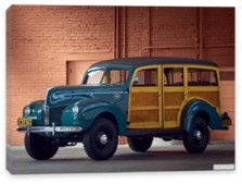 Ford, Ford Standard Station Wagon by Marmon-Herrington '1940