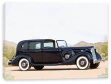Packard, Packard Twelve All-Weather Town Car by LeBaron (1408) '1936