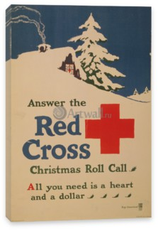 Реклама, Answer the Red Cross Christmas Roll Call, All You Need is a Heart and a Dollar