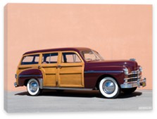 Plymouth, Plymouth Special Deluxe Woody Station Wagon '1950