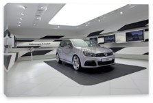 Golf R 3D, Volkswagen Golf R 3D (арт. am2709)