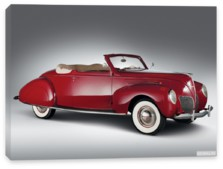 Lincoln, Lincoln Zephyr Convertible Coupe '1938