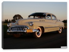 Buick, Buick Super 4-door Sedan (52) '1950