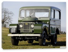 Land Rover, Land Rover Series I 80 Tickford Station Wagon '1948-58