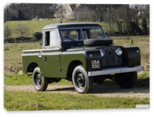 Land Rover, Land Rover Series II 88 Pickup '1958