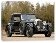 Bentley, Bentley 4 Litre Coupe by Mulliner '1931