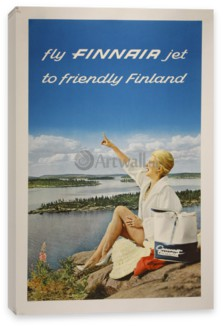 Национальный парк, Fly Finnair Jet to Friendly Finland