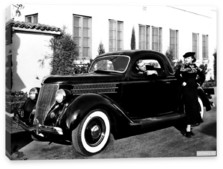 Ford, Ford V8 Deluxe 3-window Coupe (68-720) '1936