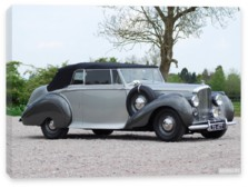 Bentley, Bentley Mark VI Drophead Coupe by Park Ward '1949