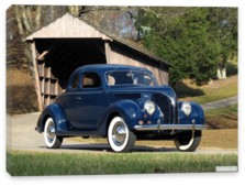 Ford, Ford V8 Deluxe Coupe (81A-770В) '1938