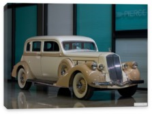 Pierce-Arrow, Pierce-Arrow Deluxe 8 Touring Sedan '1936