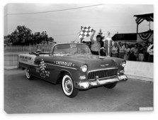 Chevrolet, Chevrolet Bel Air Convertible Indy 500 Pace Car '1955