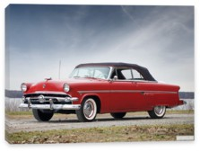 Ford, Ford Crestline Sunliner Convertible Coupe '1954