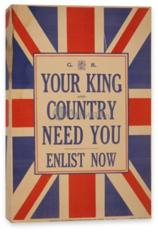 Пропаганда, Your King and Country Need You, Enlist Now