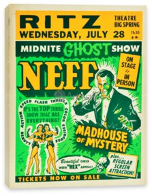 Цирк, Midnite Ghost Show, Dr. Neff, Madhouse of Mystery