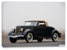 Ford, Ford V8 Deluxe Roadster (68-710) '1936