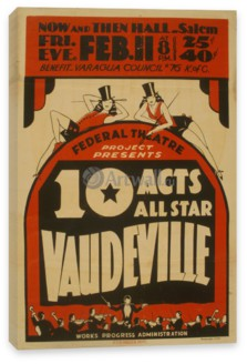 Кино, 10 Acts All Star Vaudeville, Federal Theater Project
