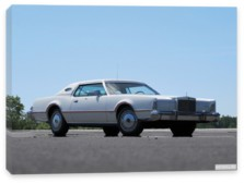 Lincoln, Lincoln Continental Mark IV Lipstick & White Luxury Group '1975-76