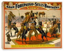 Цирк, The Adam Forepaugh & Sells Brothers, America's Greatest Shows Consolidated (2)