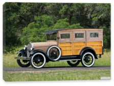 Ford, Ford Model AA Popcorn Truck by Cretors '1929