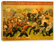 Цирк, The Barnum & Bailey Greatest Show on Earth, The Mahdi or for the Victoria Cross