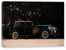 Auburn, Auburn 8-105 Convertible Sedan '1933