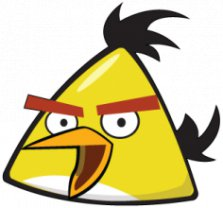 Angry Birds, Наклейка «Angry Birds Yellow»