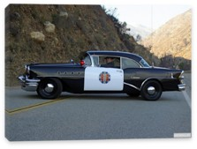 Buick, Buick Century 2-door Sedan Highway Patrol '1955