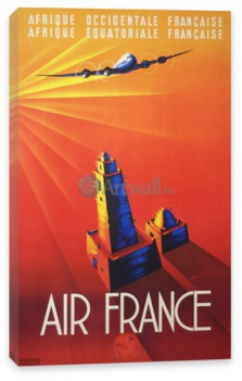Туризм, Air France, Afrique OccidentaleEquatoriale Francaise