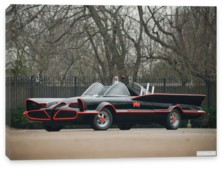 Lincoln, Lincoln Futura Batmobile by Barris Kustom '1966