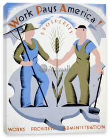 Works Progress Administration (USA), Work Pays America!