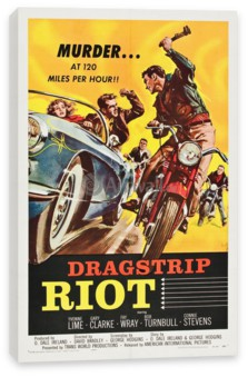 Кино, Dragstrip Riot, Murder at 120 Miles per hour!