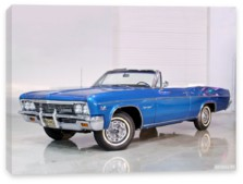 Chevrolet, Chevrolet Impala SS Convertible '1966