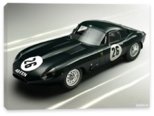 Jaguar, Jaguar E-Type Lightweight Coupe (Series I) '1963
