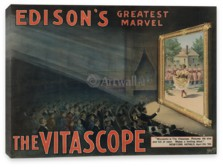 Кино, Edison's Greatest Marvel, The Vitascope