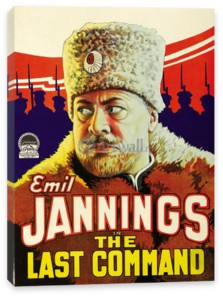 Кино, Emil Jannings in The Last Command