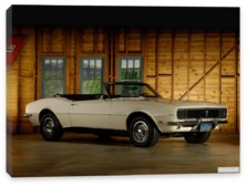 Chevrolet, Chevrolet Camaro RS 327 Convertible (I) '1968
