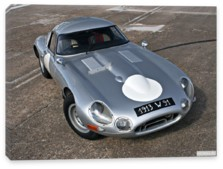 Jaguar, Jaguar E-Type Low-Drag Coupe (Series I) '1962