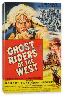 Кино, Ghost Riders of the West, Robert Kent, Peggy Stewart