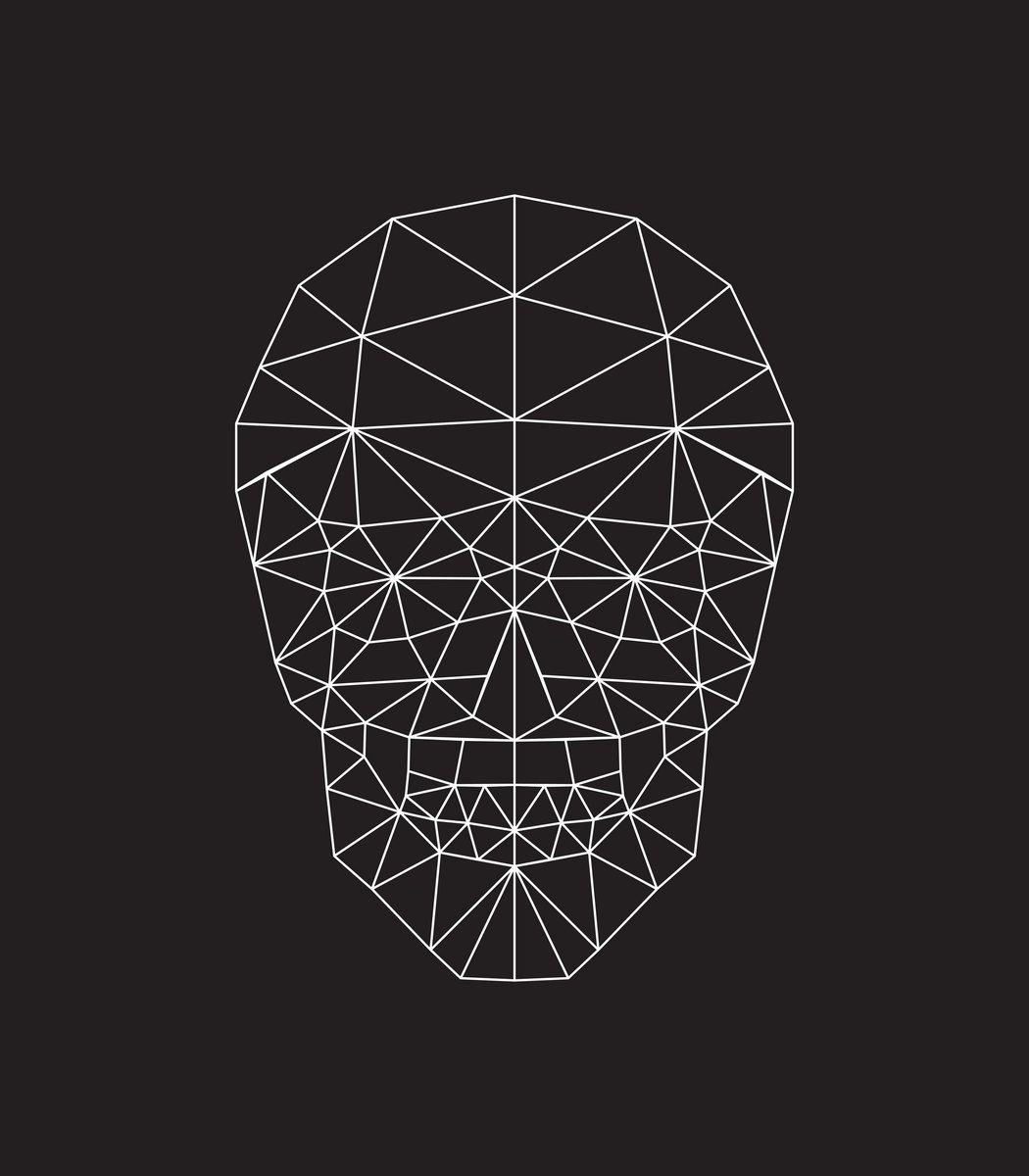 Постер-картина Минимализм Полигональные векторные черепа Минимализм<br>Постер на холсте или бумаге. Любого нужного вам размера. В раме или без. Подвес в комплекте. Трехслойная надежная упаковка. Доставим в любую точку России. Вам осталось только повесить картину на стену!<br>