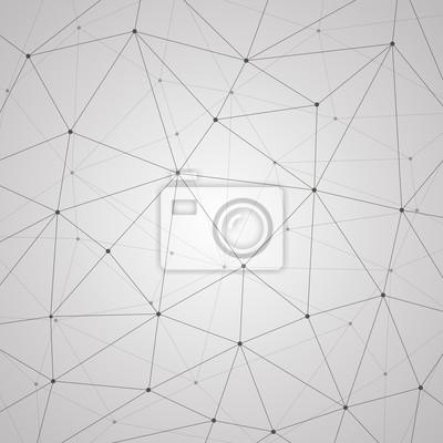Постер-картина Минимализм Абстрактный векторный фон, геометрии, линий, точек, треугольников, технология, обои Минимализм<br>Постер на холсте или бумаге. Любого нужного вам размера. В раме или без. Подвес в комплекте. Трехслойная надежная упаковка. Доставим в любую точку России. Вам осталось только повесить картину на стену!<br>