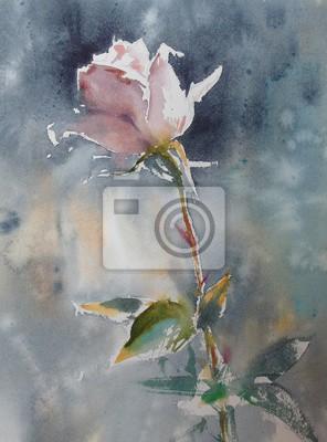 Цветы в современной живописи, картина Рисунок цветок акварельЦветы в современной живописи<br>Репродукция на холсте или бумаге. Любого нужного вам размера. В раме или без. Подвес в комплекте. Трехслойная надежная упаковка. Доставим в любую точку России. Вам осталось только повесить картину на стену!<br>
