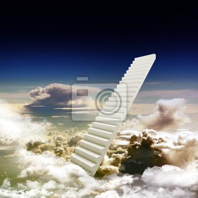 Лестница, ведущая вверх к яркому свету, 20x20 см, на бумагеЛестница в небо<br>Постер на холсте или бумаге. Любого нужного вам размера. В раме или без. Подвес в комплекте. Трехслойная надежная упаковка. Доставим в любую точку России. Вам осталось только повесить картину на стену!<br>