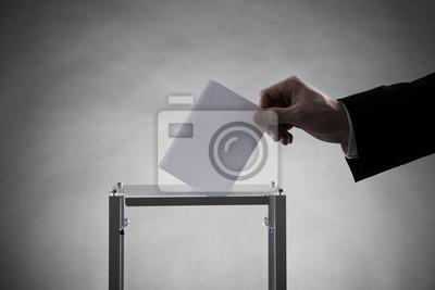 Постер Выборы, голосование