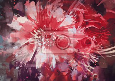 Цветы в современной живописи, картина Красивые осенние цветы,старый стиль живописиЦветы в современной живописи<br>Репродукция на холсте или бумаге. Любого нужного вам размера. В раме или без. Подвес в комплекте. Трехслойная надежная упаковка. Доставим в любую точку России. Вам осталось только повесить картину на стену!<br>